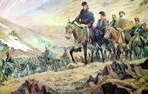 Esgrima Criolla: San Martin y los Indios.