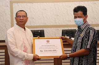 Akhyar Berterima Kasih kepada Semua Pihak yang Telah Memberikan Bantuan kepada Warga Medan Terdampak Banjir