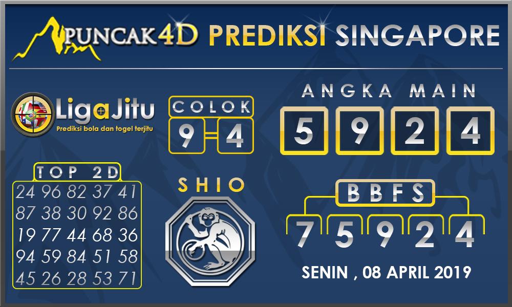 PREDIKSI TOGEL SINGAPORE PUNCAK4D 08 APRIL