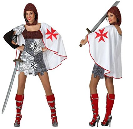 Atosa - 16444 - Costume - Déguisement Guerrière Médiévale Adulte - Taille 2