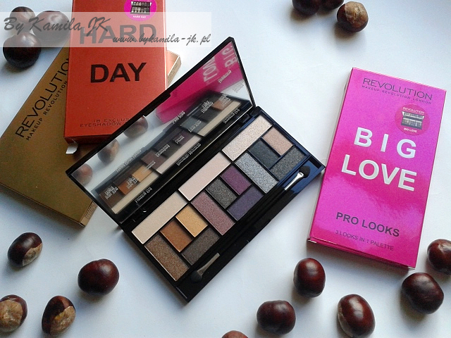 Makeup Revolution paleta cieni Big Love