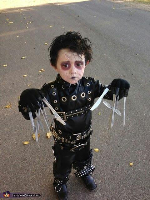 Edward Scissorhands Kid Halloween