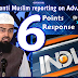 Opinion: India TV's anti Muslim reporting on Adv Faiz Syed in the spread of Corona virus, My Response