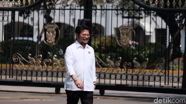 Merapat ke Istana, Syahrul Yasin Limpo: NasDem Totally Bersama Jokowi