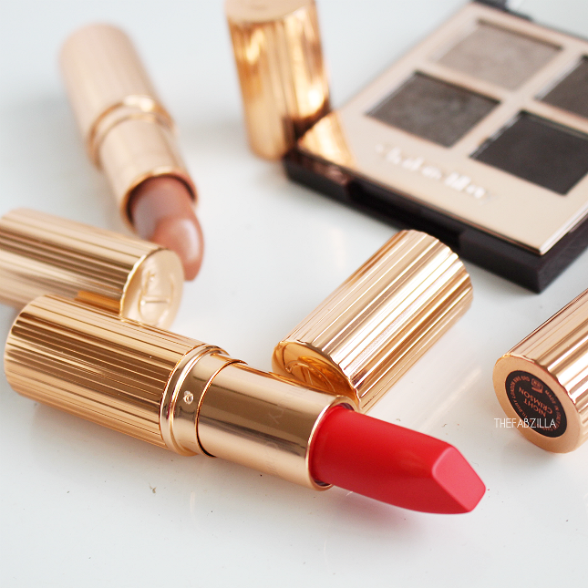 best red orange lipstick, fall 2015 makeup collection, Charlotte Tilbury Matte Revolution Luminous Modern Matte 1975 Red