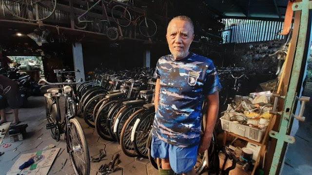 Cerita Kolektor Sepeda Antik Asal Borobudur Magelang, Ada 3.400 Unit Berbagai Merek