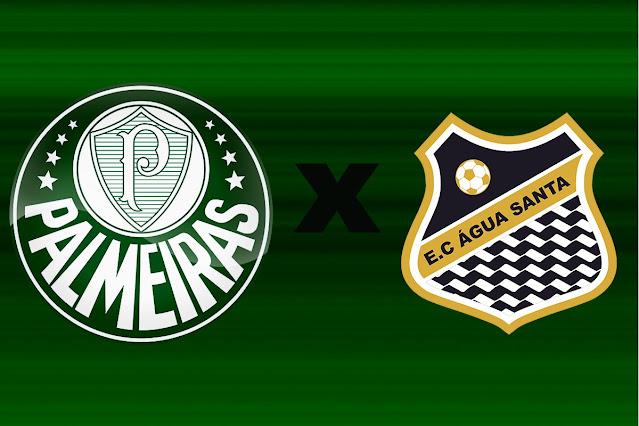 Onde assistir Palmeiras x Água Santa pelo Campeonato Paulista