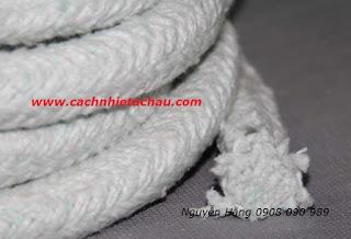 Dây sợi gốm Ceramic chịu nhiệt, chống cháy   Cách nhiệt Á Châu Ceramic%2BFiber%2BRope3