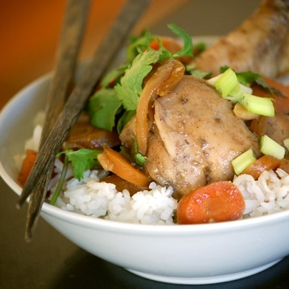 Slow-Cooker Soy Ginger Chicken