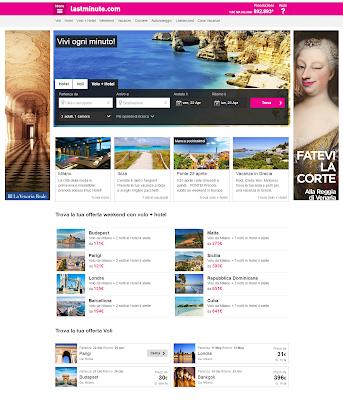 LASTMINUTE.COM - cerca Vacanze, Hotel, Voli, Volo+Hotel e Top Secret Hotels