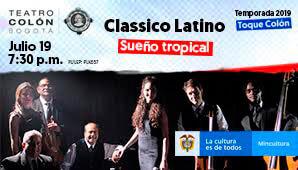 Concierto de CLASSICO LATINO en Teatro Colon 2019