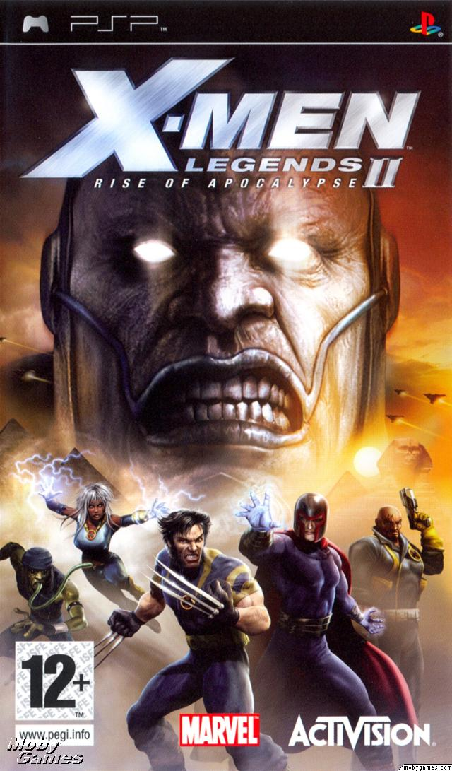 X-Men Legends II - Rise of Apocalypse - PSP - ISO Download