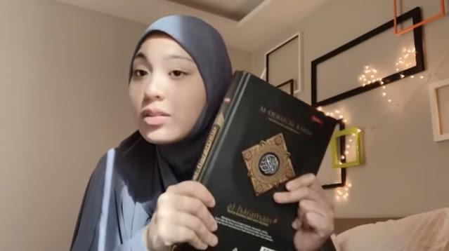 Janna Nick Bersumpah dengan Al-Quran