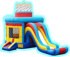 Birthdaycake bouncer,