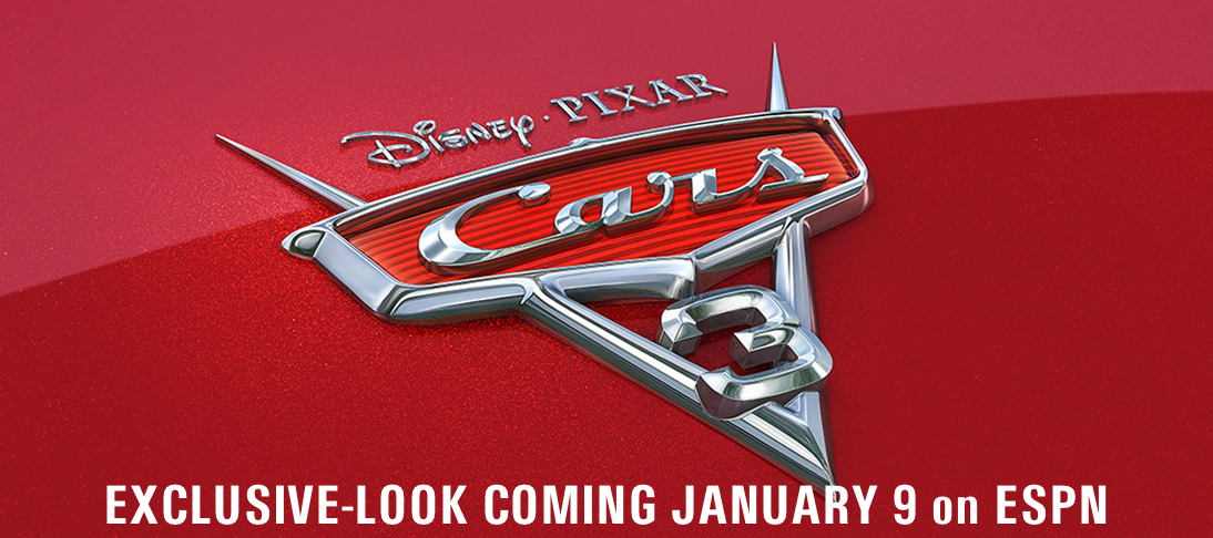 5ae3994cba0 Exclusive Look at 'Cars 3' Coming January 9 on ESPN - Join us for a ...