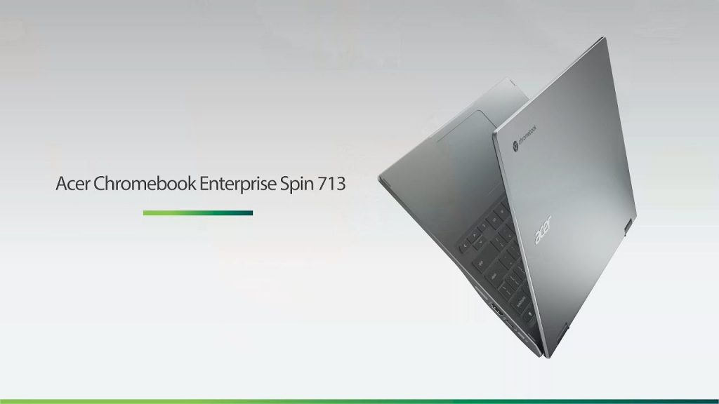 Acer officially announced the Chromebook Spin 713 starting from $ 259