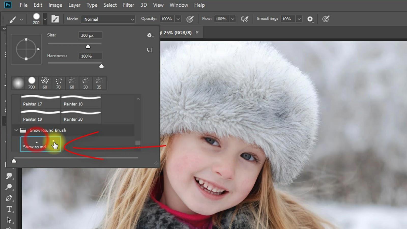 1-Click Automatic Realistic SNOW EFFECT Screenshot 4