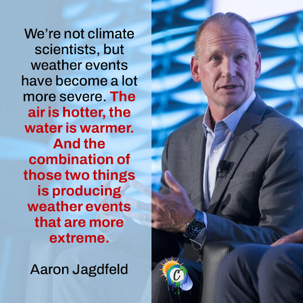 We're not climate scientists, but weather events have become a lot more severe. The air is hotter, the water is warmer. And the combination of those two things is producing weather events that are more extreme. — Aaron Jagdfeld, Generac Chief Executive Officer