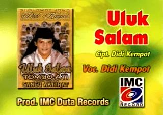 Lirik Lagu Uluk Salam - Didi Kempot