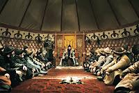 Eski Türklerde çadır içinde yapılan toy toplantısı