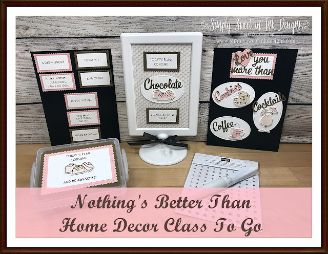 Fun crafting delivered to your mailbox in San Antonio and across the U.S. with stampin up nothing's better than magnet board home decor class