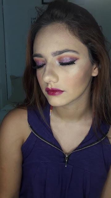 blog-inspirando-garotas-maquiagem-adolescente- glitter-roxo