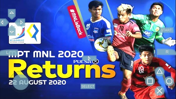 PES MYANMAR MNL 2020 | PPSSPP Android Download