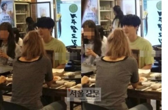 Netizenler Ahn Jae Hyun'un doğumgününden Goo Hye Sun'un anlattıklarına uyan bir fotoğraf buldu