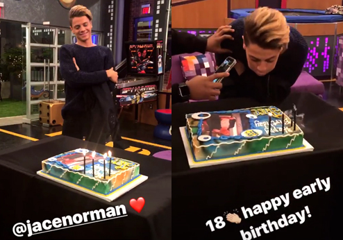 NickALive!: Jace Norman Celebrates 18th Birthday Early on ...