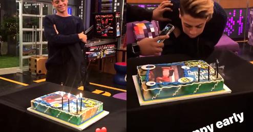Nickalive Jace Norman Celebrates 18th Birthday Early On