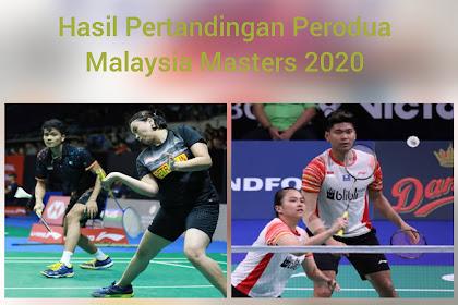 Hasil Pertandingan Malaysia Masters 2020, Praveen/Melati tersingkir Pia/Ricky Melaju