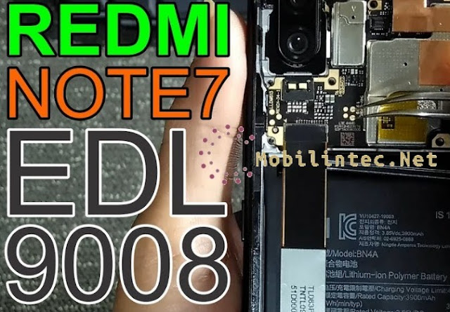 Test Point Xiaomi Note 7 EDL Mode