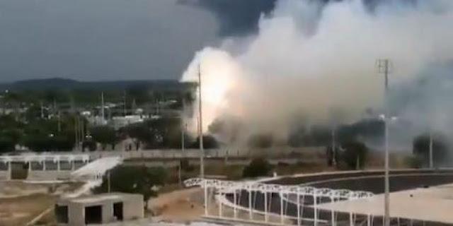 Explosión dejó sin luz a Valledupar, sur de La Guajira y parte del Magdalena