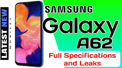 Samsung Galaxy A62 Specifications