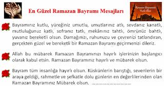 En Güzel Ramazan Bayramı Mesajları - Hazır Mesajlar - Komikler Burada