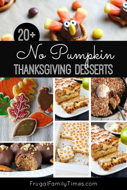 non pumpkin thanksgiving desserts
