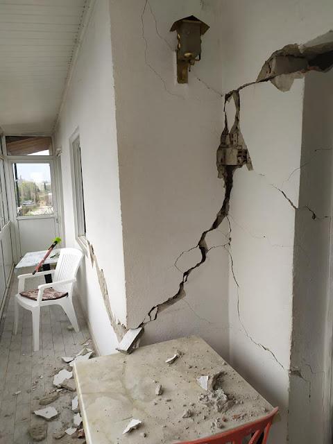 Πρέβεζα: Σε κατάσταση έκτακτης ανάγκης, λόγω του σεισμού, το σύνολο των Δημοτικών Ενοτήτων Λούρου και Ζαλόγγου