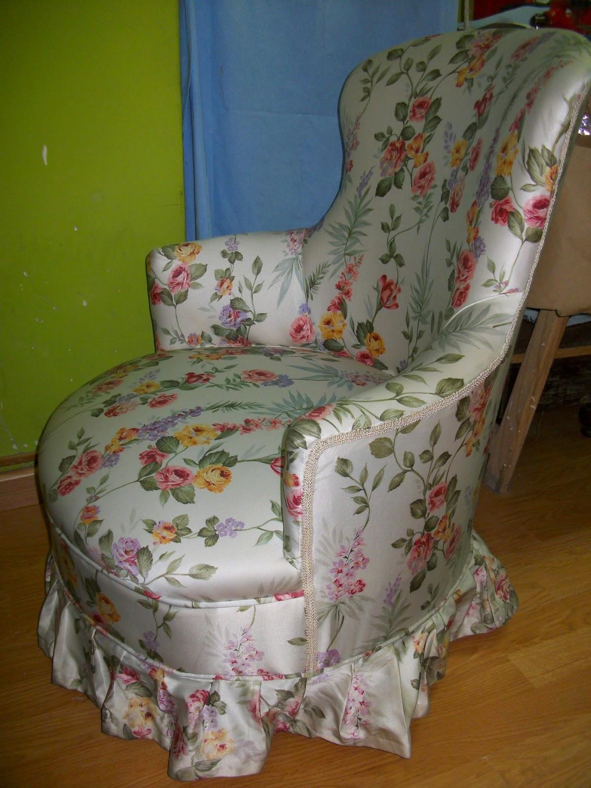 El blog de la restauradora tapizado de una descalzadora - Como tapizar una descalzadora ...