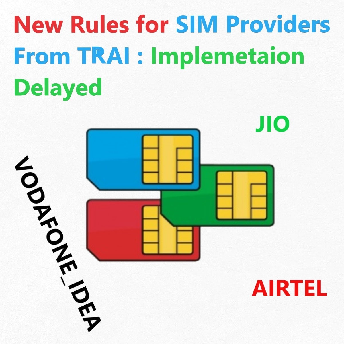 New Rules of TRAI delayed Due to Technical Issue