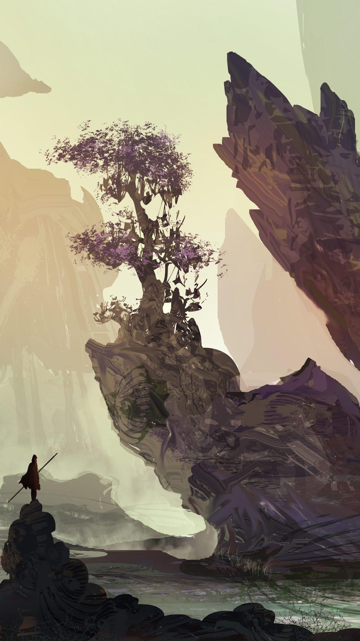 Warrior landscape mobile wallpaper