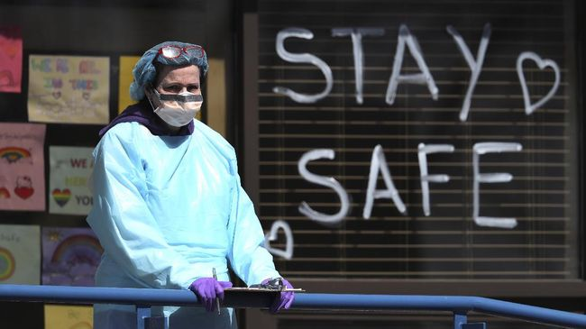 Kasus Kematian Akibat Corona di Eropa Tembus 120 Ribu Orang