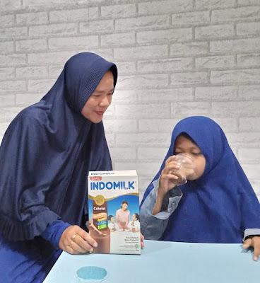 Indomilk Susu Bubuk untuk pertumbuhan anak