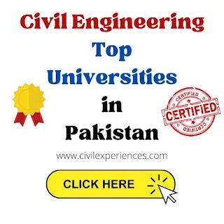 Top Civil Engineering Universities in Pakistan