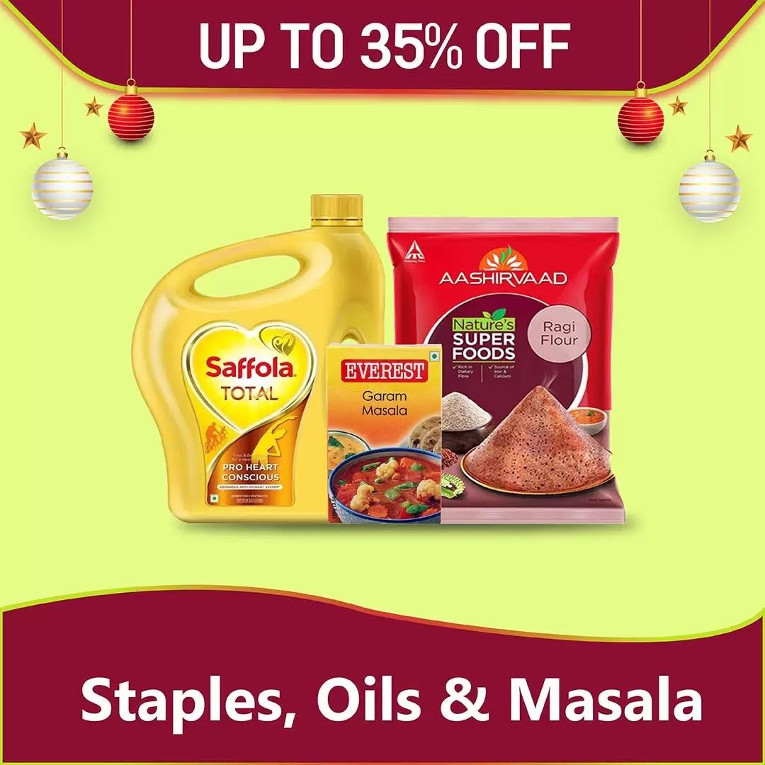 Staples Oils Masala 273