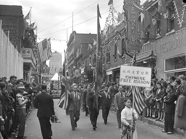 1945 Montreal Chinatown