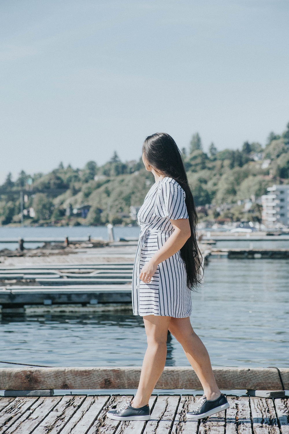 nautical vibes dress marshalls seattle striped ecco shoes sneakers