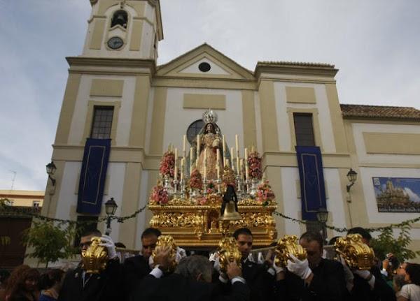 Horario e Itinerario de las Procesiones del día Virgen del Carmen en la Provincia de Málaga
