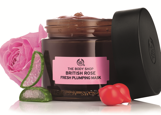 The Body Shop British Rose Fresh Plumping Mask1