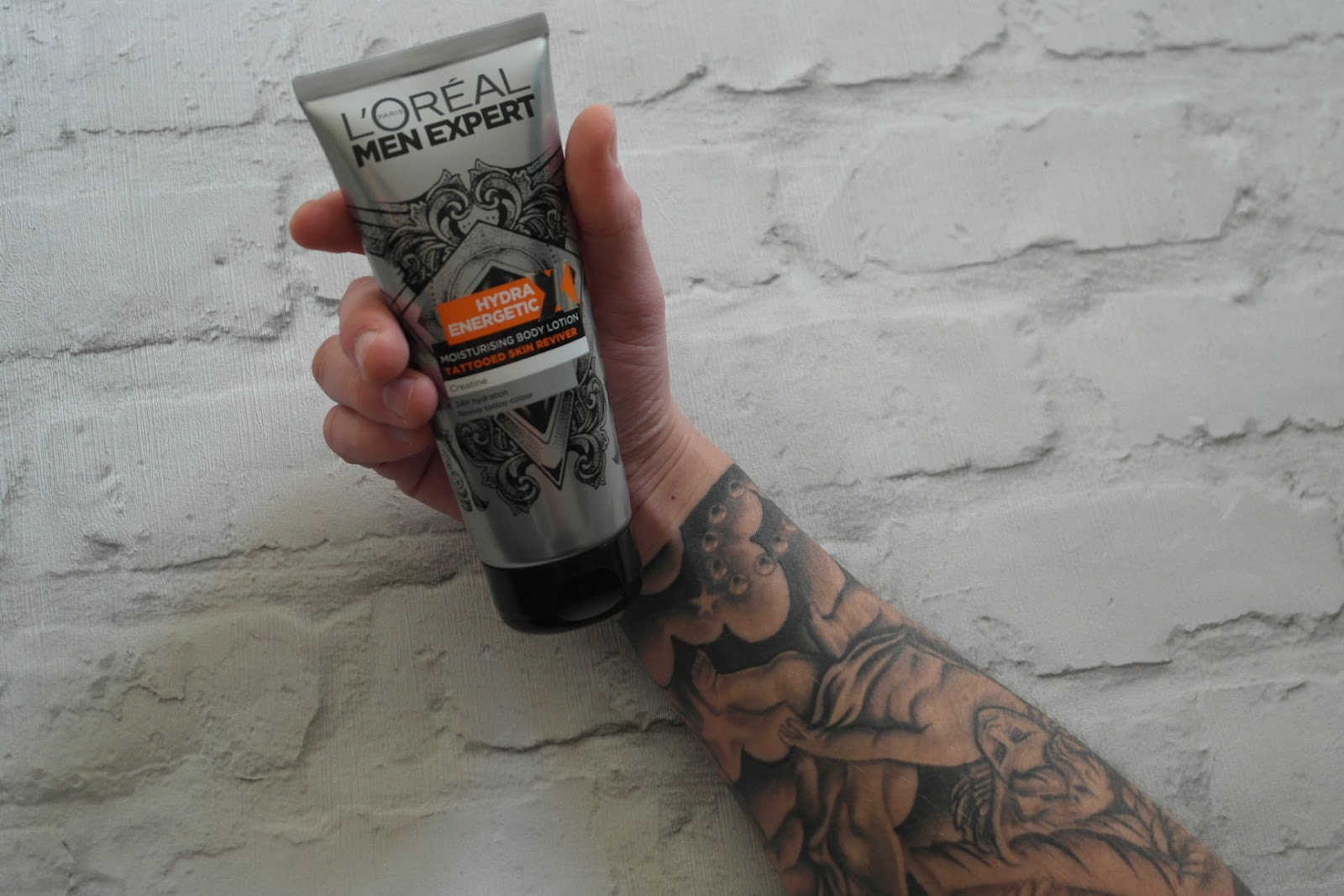 L'oreal Men Expert Hydra Energetic Tattooed Skin Reviver Lotion review