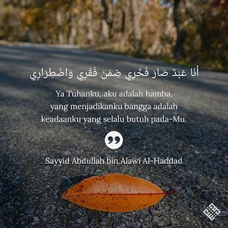 Quote sayyid Muhammad Alawi Al-Haddad